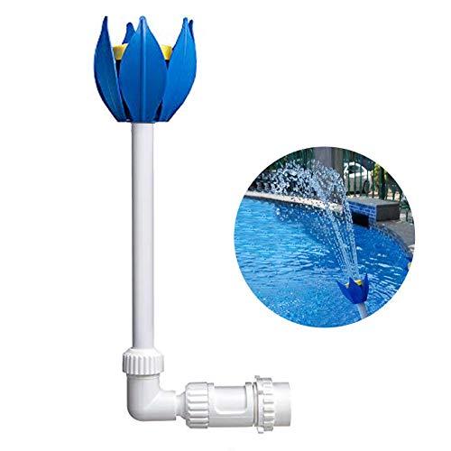 ZCONIEY Pool Fountain Fun Water Sprinkler Above & Inground Swimming Pool Waterfalls Spray Pond Decor