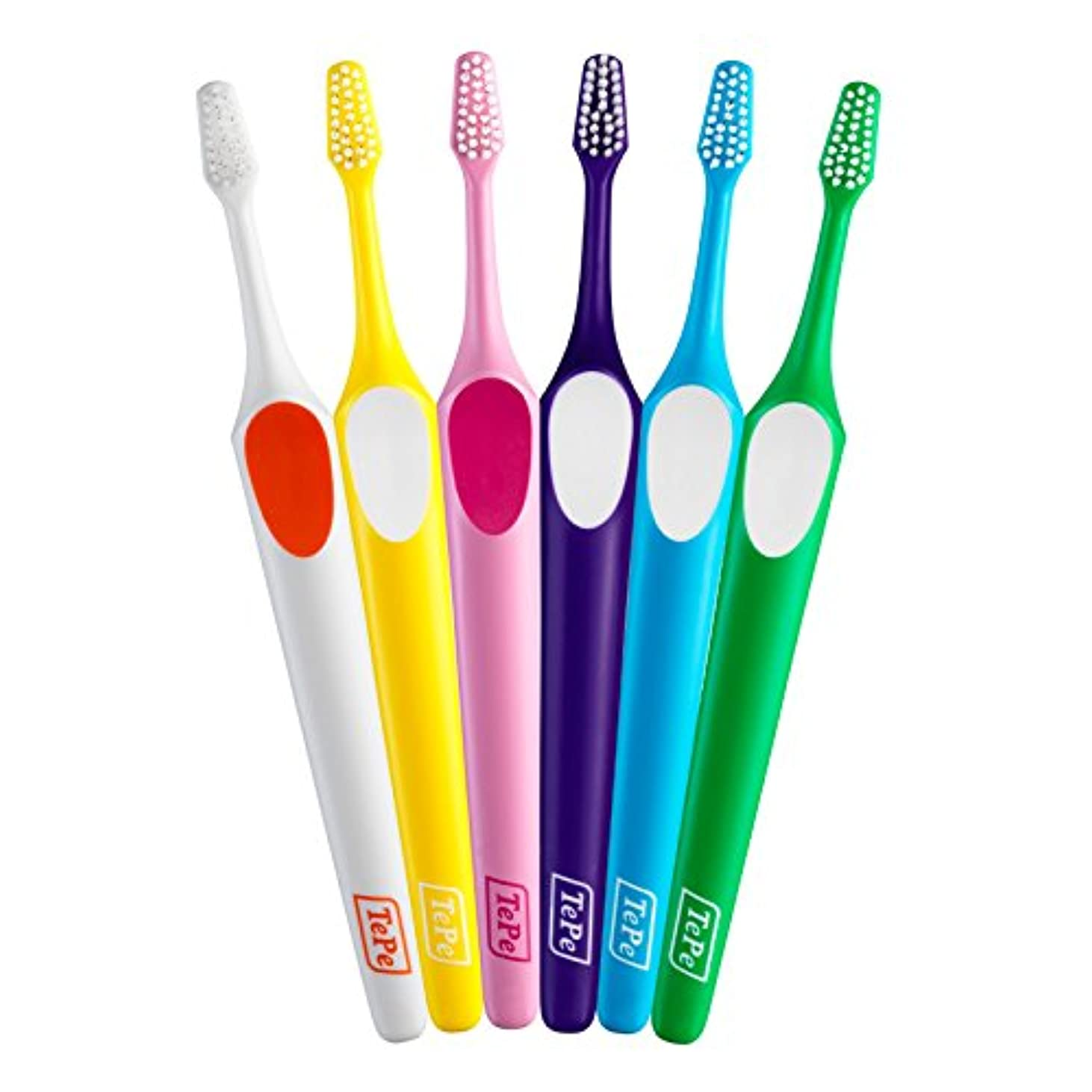 すすり泣きに同意するナイロンテペ(TePe) 歯ブラシ スプリーム コンパクト × 5本