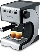 Frigidaire FD7189 Espresso and Cappuccino Maker with Stainless Steel Decoration Panel, 220 to 240-volt Silver