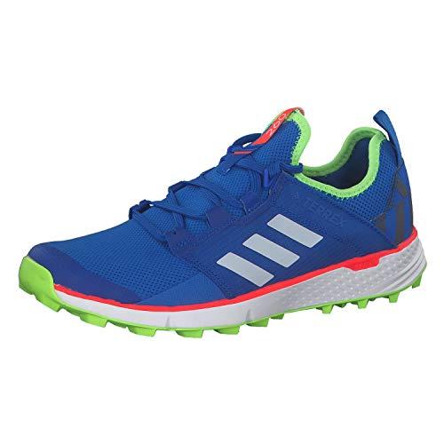 adidas Terrex Speed LD, Zapatillas Deportivas Hombre, Glory Blue/FTWR White/Signal Green, 44 2/3 EU