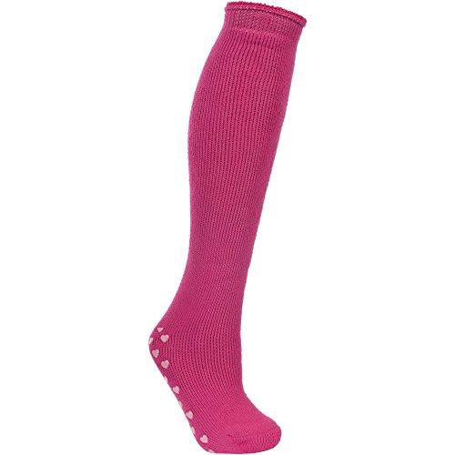 Trespass Damen Ski-Socken mit Herz-Noppensohle (Einheitsgröße) (Sasparilla)