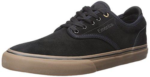 Emerica Men's Wino G6 Skate Shoe, Black/Gum, 5 Medium US