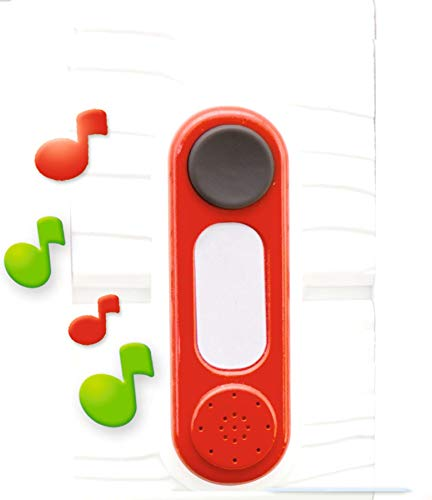 Smoby- Sonnette, 810912, Rouge