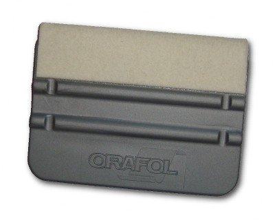 ORAFOL Kunststoff Schaber mit Filz (Getrennt) 10 x 7 cm