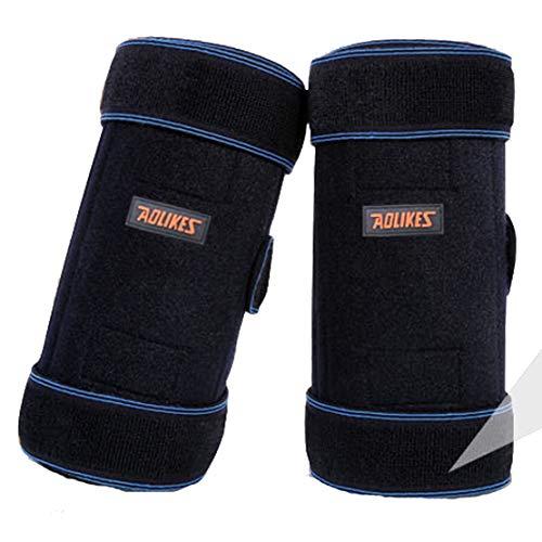 HiXB Apoyo de Rodilla -1X Rodillera estabilizada Ayuda de recuperación para la Artritis Menisco Recuperación del Dolor Gimnasio Deportes Baloncesto Correr Esquiar