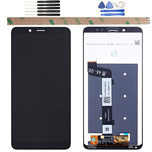 YHX-OU Para Xiaomi Redmi Note 5 de 5,99 pulgadas (versión global), reparación y sustitución de pantalla LCD + digitalizador de pantalla táctil con herramientas gratuitas, color negro