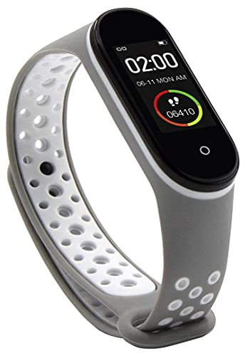 Abyx Fit Lime – Reloj deportivo deportivo para hombre y mujer, multifunción, IP67, color gris