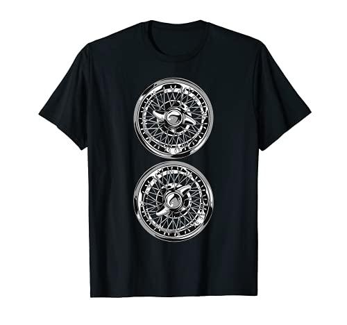 Abanicos retro para coche, llantas vintage Camiseta