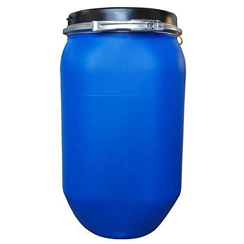 Fusto in plastica (HDPE) ad apertura totale, quadrato, capacità 30 Lt, ADR/ONU per solidi (coperchio incluso) (30 Lt)
