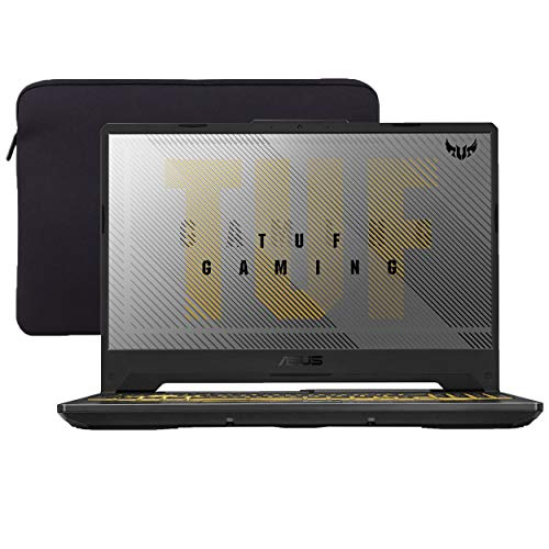 ASUS TUF VR Ready Gaming Laptop, 15.6' IPS FHD, AMD Ryzen 7-4800H Octa-Core 4.20 GHz, NVIDIA RTX 2060, 32GB RAM, 1TB SSD+1TB HDD, RGB Backlit KB, RJ-45 Ethernet, Win 10 QWERTY US Version