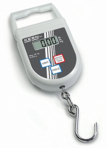 Balanza de colgar [Kern CH 50K50] , Campo de pesaje [Max]: 50 kg, Lectura [d]: 50 g