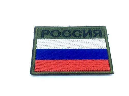 Russland Russisch Россия Flagge Bestickt Airsoft Paintball Patch