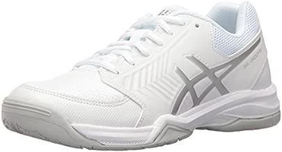 ASICS Women's Gel-Dedicate 5 Tennis Shoe, White/Silver, 12 M US