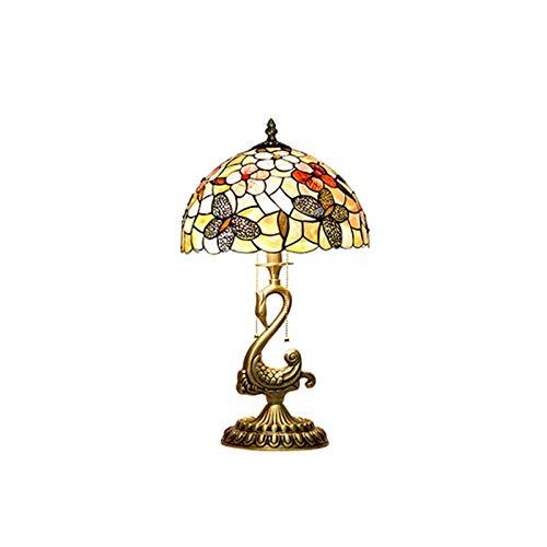 YHshop Lampada da Tavolo Lampada da Tavolo con Seashell con Ottone Solido Basso per Soggiorno Camera da Letto Casa Camera da Letto Camere da Letto Comodino per Comodo Lampada da Scrivania