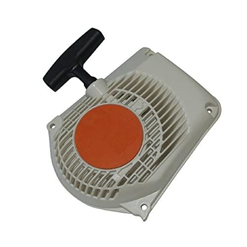 HCO-YU Rückstoßstarter Pull Rewind Starter Montage für Stihl MS260 MS240 024 026 Kettensägenmotor Motor 1121 080 210 Spiraldruckfedern für Rasenmäher