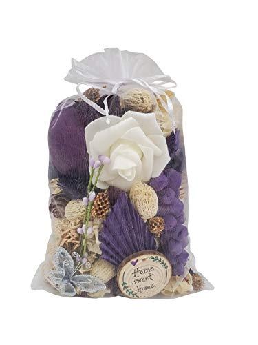 Jacqver 13 oz Lavender Potpourri in White Organza Bag