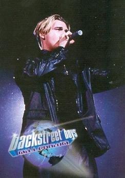 Nick Carter trading card Backstreet Boys 2000 WL #1 Millenium