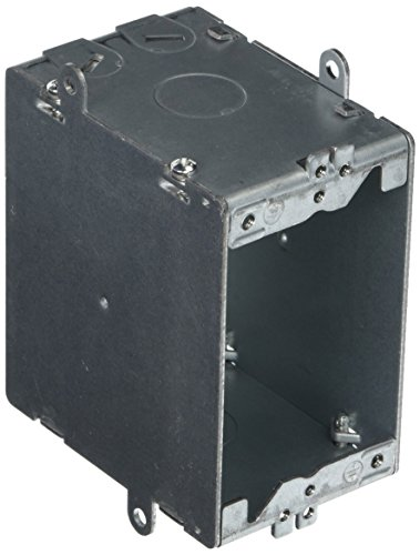 Bryant Electric RJ600 Box for use with JLOAD Multimedia Outlet, Steel