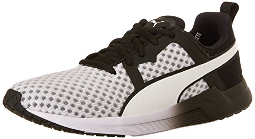 PUMA Women's Pulse XT CORE WNS-W Running Sneaker, White/Black, 9.5 B US