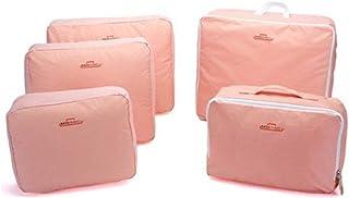 حقيبة سفر من 5 قطع للنساء