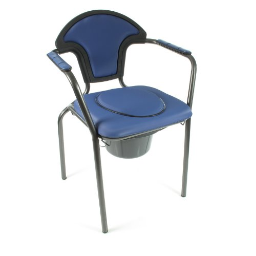 "Russka Toilettenstuhl""Standard modern"", blau"