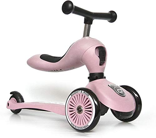 Scoot & Ride Highwaykick 1 - Rose - Scooter mit sitz