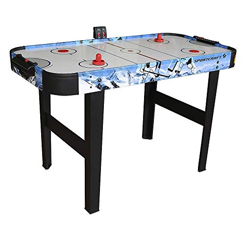 48' Air Hockey Table with Electronic Scorer