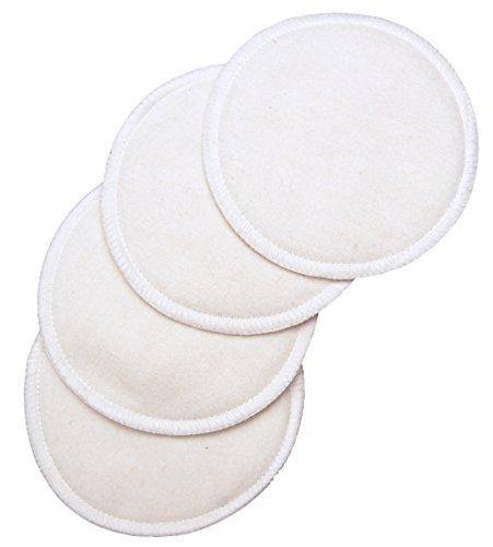 Buy NuAngel Washable Nursing Cotton Pads White 6-Count