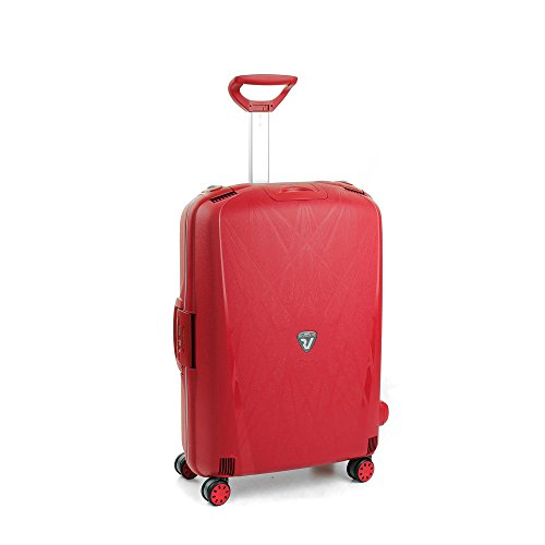 Roncato Light Maleta Mediana Rojo, Medida: 68 x 48 x 27 cm, Capacidad: 80 l, Pesas: 3.80 kg