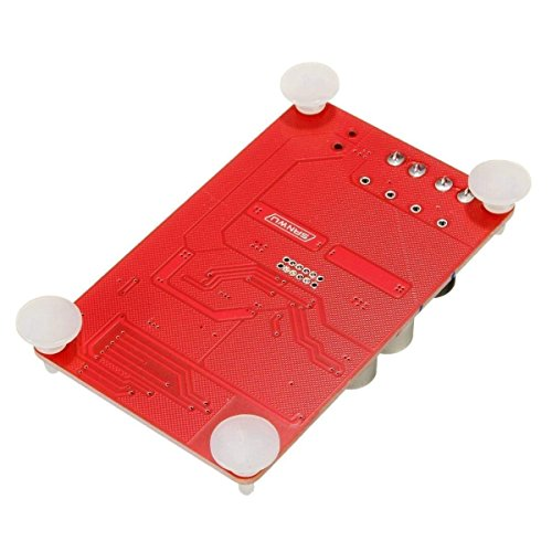 HiLetgo TDA7492P 50W+50W Wireless Bluetooth CSR4.0 Audio Receiver Digital Amplifier Board 8~25V DC2.1 Power Supply