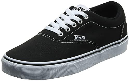 Vans Doheny, Sneaker Uomo, Tela Nera Nera Bianca 187, 43 EU