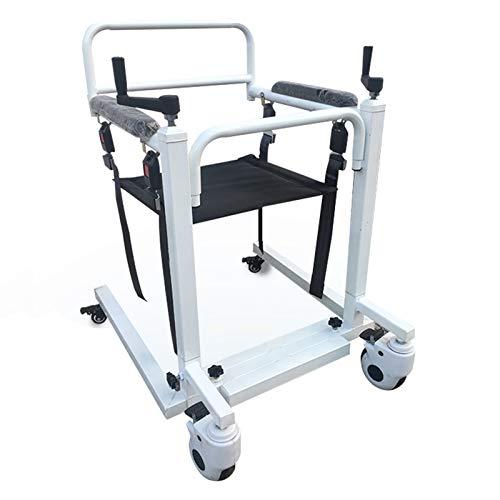 ZHDDM Patientenlifter Aufstehhilfe Bett Transit-Rollstuhl Patiententransport Tragestuhl Treppenstuhl Behinderter Ganzkörper -Patiententransferheber mit gepolstertem Sitz - Maximale Belastung 330 lbs