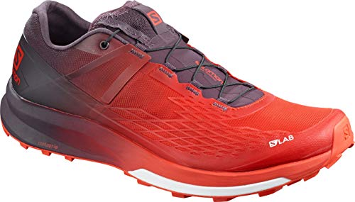 SALOMON Unisex Shoes S/lab Ultra Laufschuhe, Mehrfarbig (Racing Red/Maverick/White), 42 EU
