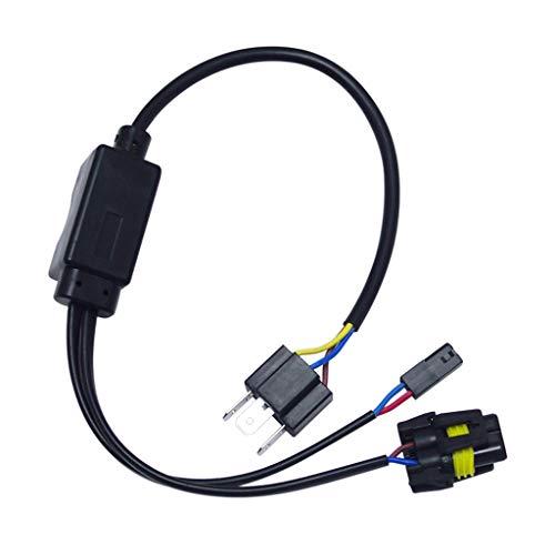 Sharplace Harnais de Câblage H4 9003 Hb2 Lo Bi-Xénon Contrôleur d'Ampoule Faisceau de Relais