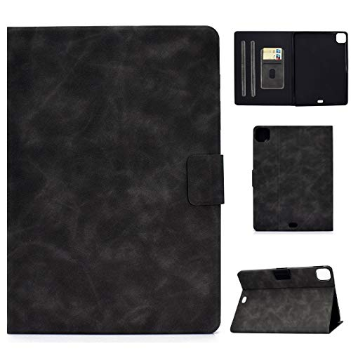 LESLEY LM For Cowhide Texture Horizontal Flip Leather Case with Holder & Card Slots & Sleep/Wake-up Function iPad Pro 11 (2020) & (2018) 2021 NEW MODEL (Color : Grey)
