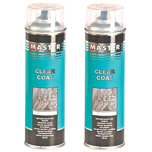 Troton KLARLACK 2 x 500ml Spray Glanz SPRÜHLACK LACKSPRAY AUTOLACK 1K HS GLÄNZEND SPRAYDOSE
