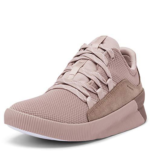 Sorel Women's Out N About Plus Lace Sneaker - Mauve Vapor - Size 9