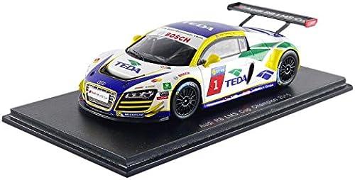 70% de descuento Spark sa085 Audi R8Lms Cup Champion 2015 Escala 1 43 43 43 azul blanco  selección larga