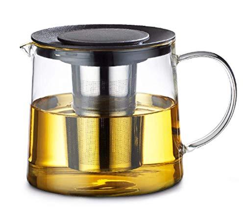 Tebery Teekanne 1,5 Liter mit Metallsieb