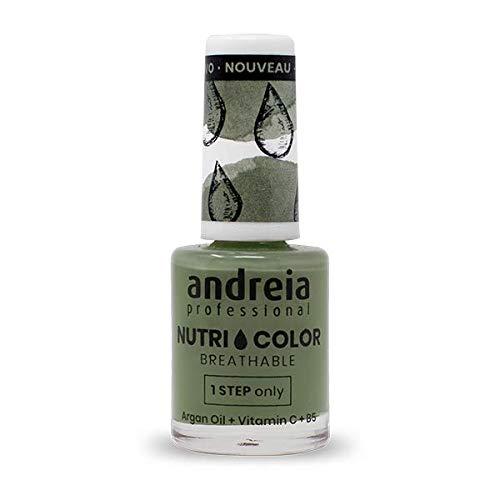 Andreia Professional NutriColor - Atmungsaktiver Veganer Nagellack NC20 Grün - 10.5ml