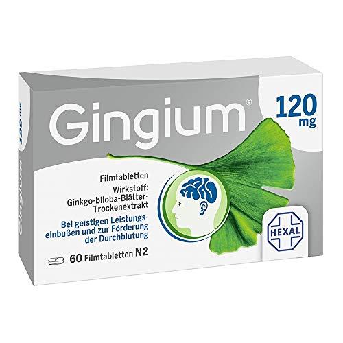 Gingium 120 mg Filmtabletten, 60 St. Tabletten