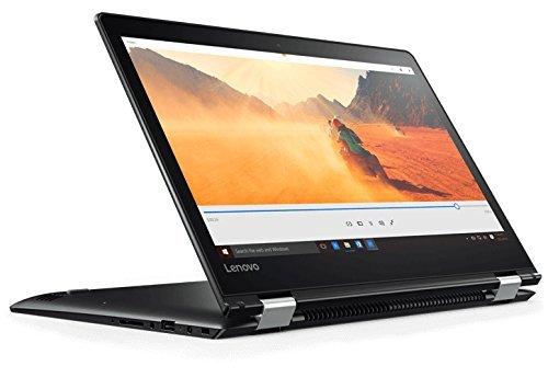 Lenovo Yoga 510-14AST - Ordenador portátil táctil convertible de 14' HD (AMD A9-9410, 4 GB de RAM,128GB de SSD, AMD Radeon R5, Windows 10 Home) negro - Teclado QWERTY Español