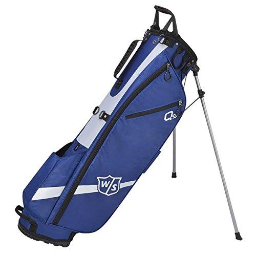 Wilson Golf WGB4321BU Sac trépied Mixte Adulte, Bleu