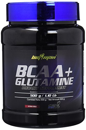 Big Man Nutrition BCAA + Aminoácidos Ramificados Glutamine Citrus Cola - 500 gr