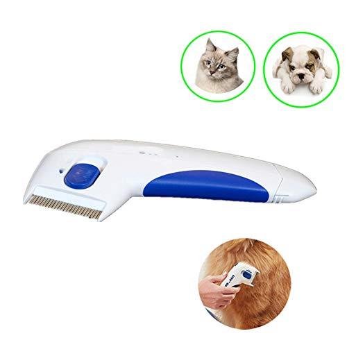 LIANGZHI hundebürste langhaar elektrisch, elektrische terminatorbürste Anti-entfernung Kill lice Cleaner, geeignet für alle Arten von haarigen haustieren