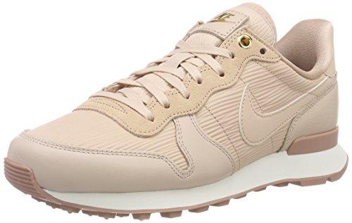 Nike Damen W Internationalist Premium Sneaker, Beige (Particle Beige/Summit White/Particle Pink/Particle Beige 202), 36.5 EU