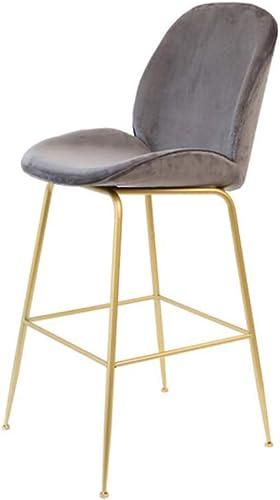 C-K-P Mode Tabouret de Bar Style Minimaliste Moderne à Manger Chaise Chaise de Bar Chaise de Loisirs à la Maison