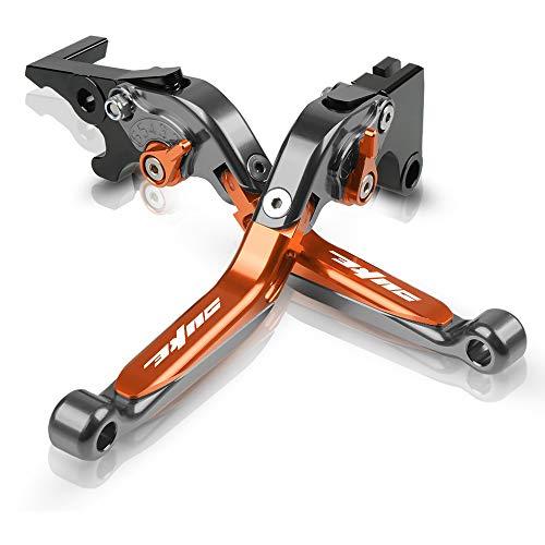 Motorrad Einstellbar Bremskupplungshebel CNC Aluminium für KTM Duke 125 2011-2020 Duke 200 2012-2020 Duke 250 2013-2020 Duke 390 2013-2020-TOTO
