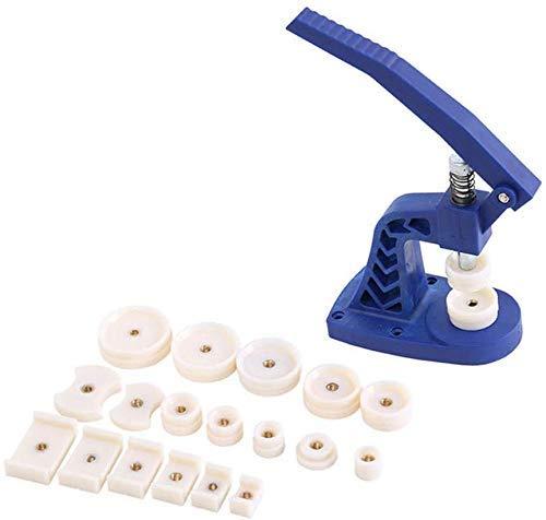 IREANJ Caja de Relojes de Reloj Pulse Set con 30 Muere, Reloj Pulse Set/Tool Kit Caja de Reloj CloserWatch reparación for relojeros Profesionales y coleccionistas