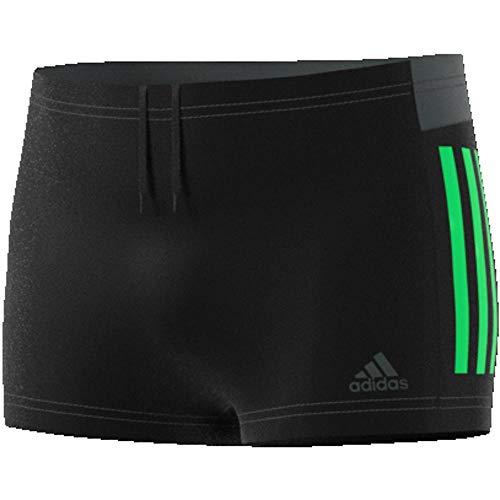 adidas Herren Badeshorts 3-Streifen Colorblock, Black, 7, DP7553